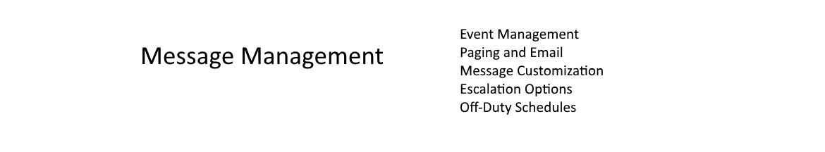 Page and Message Management